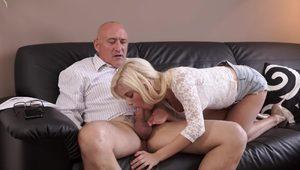 DADDY4K. Dad send guy away to have opportunity to fuck his girlfriend