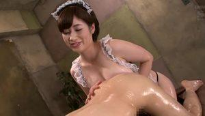 Horny Japanese chick in Hottest HD, Massage JAV clip