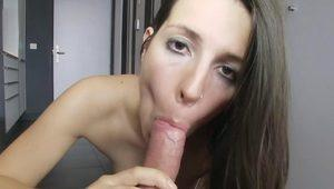 ThisGirlSucks - Spanish Chica Sucks Dick!