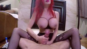 Canadian cougar shanda fay sucks & fucks your cock