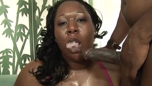 Black porker Daphne Daniels gets powerfully penetrated
