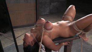 Bigtits MILF gets restrained and dominated