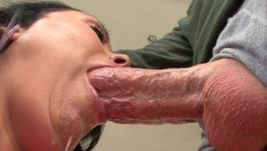 PervCity Busty Mom Sucking Big Cock