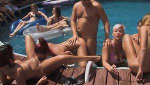 Bella Venusia Kylee Yuggy F. Ner in Wet Orgy - PegasProductions