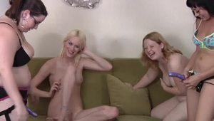 Strip Snapper with Chelsea Nyssa Ember and Jessie