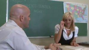 Teacher nails his pretty student