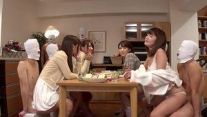 Amazing Japanese whore in Hottest Fetish, Group Sex JAV clip