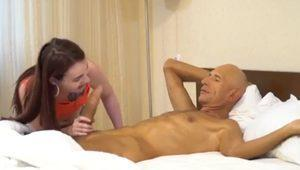 Monster cock master teaches young hottie gow to fuck!