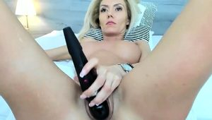 Blonde With Big Boobs Getting Fucked