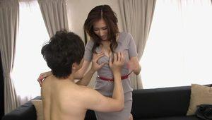 Exotic Japanese model in Horny MILF, Big Tits JAV clip
